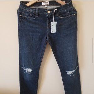 NWT FRAME Le Garcon Boyfriend Jeans